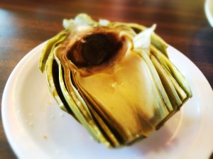 The steamed artichoke was very good, and a perfect appetizer to share if you have two artichoke lovers at the table.