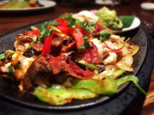 Chipotle Pollo Fajitas at Cantina Laredo