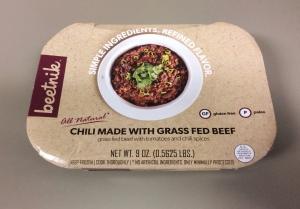 Beetnik Grass Fed Beef Chili.