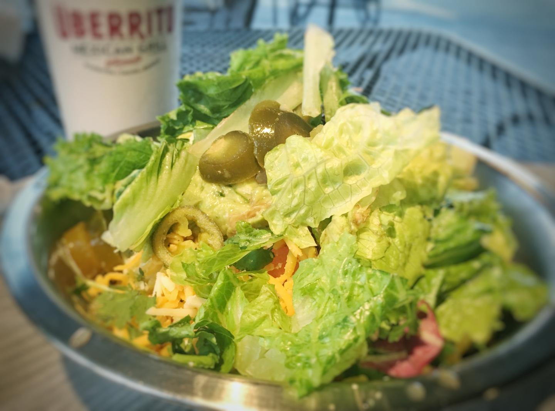 Uberrito low-carb burrito in a bowl.